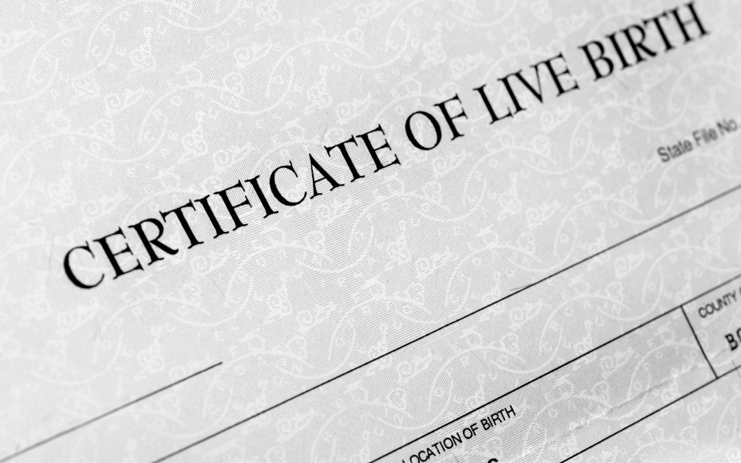 removing a name from a birth certificate
